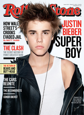 Justin Bieber, Rolling Stone Cover