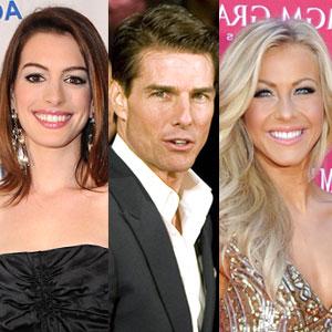 Julianne Hough, Tom Cruise, Anne Hathaway