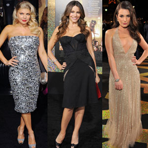 Sofia Vergara, Lea Michele, Fergie