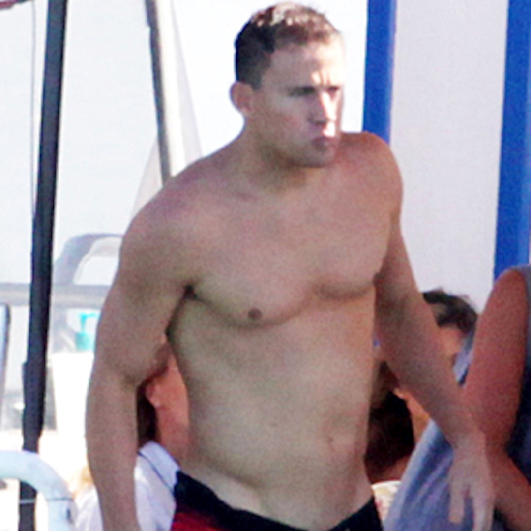 Channing Tatum Naked! Hes Fully Committed to Doing