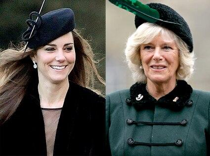 Kate Middleton, Camilla Parker Bowles