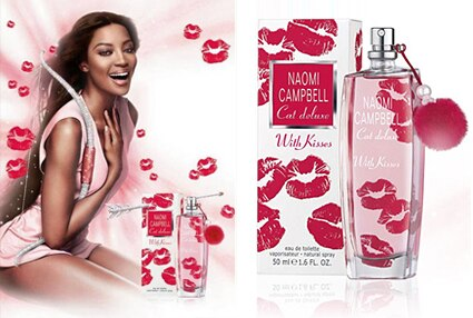 Cat Duluxe with Kisses, Naomi Campbell