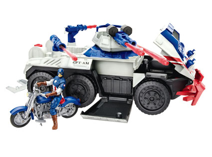 Captain America Strikefire Transport