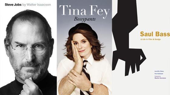 Steve Jobs, Bossypants, Saul Bass