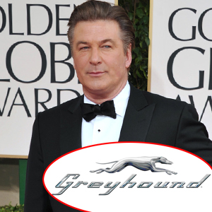 Alec Baldwin, Greyhound