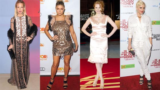 Rachel Zoe, Fergie, Jessica Chastain, Gwen Stefani