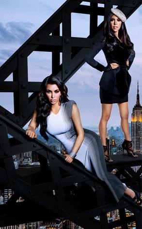Kim Kardashian, Kourtney Kardashian, Kourtney and Kim Take New York