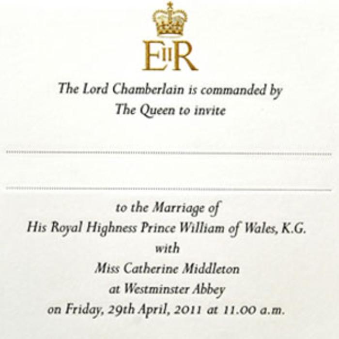 Take a Look at the Royal Wedding Invitation! | E! News
