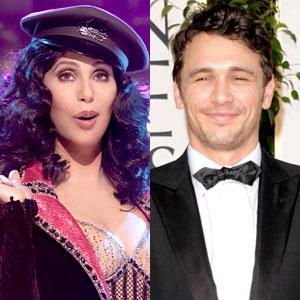 Cher, James Franco