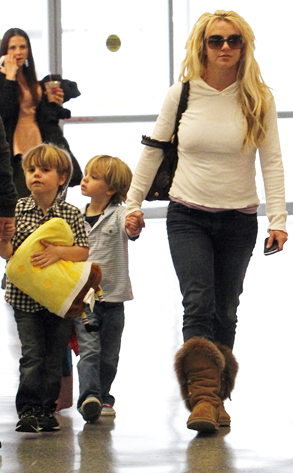 Britney Spears,Sean Preston Federline, Jayden James Federline