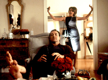 Annette Bening, Kevin Spacey, American Beauty