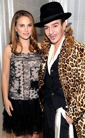Natalie Portman, John Galliano