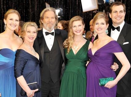 Jeff Bridges, Susan Bridges, Family