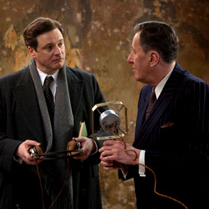 Colin Firth, Geoffrey Rush, The Kings Speech