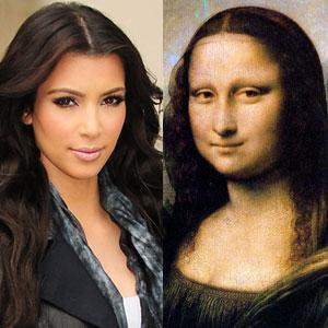 Kim Kardashian, Mona Lisa