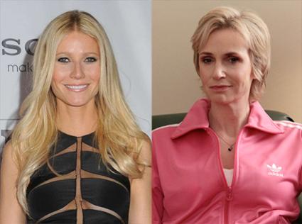 Gwyneth Paltrow, Glee, Jane Lynch