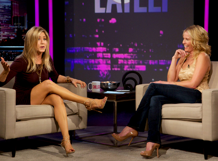 Jennifer Aniston, Chelsea Lately