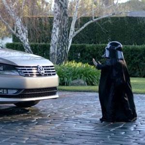 Darth Vadar Volkswagon Commercial
