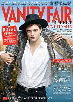 Robert Pattinson, Vanity Fair