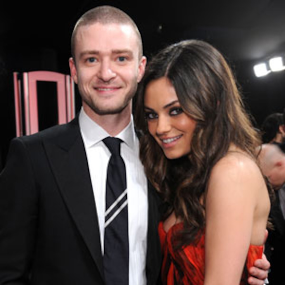 Justin Timberlake Strips Off With Mila Kunis For Friends