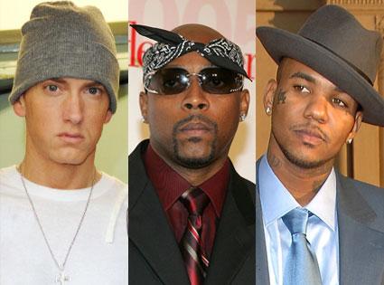 Eminem, Nate Dogg, The Game