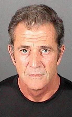 Mel Gibson, Mug Shot