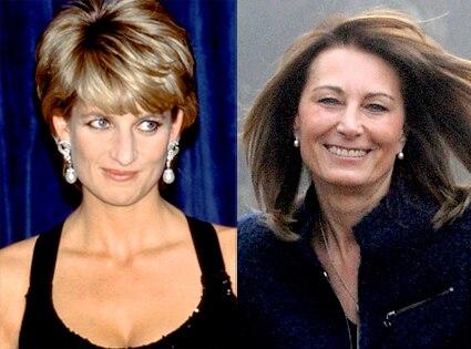 Princess Diana, Carol Middleton