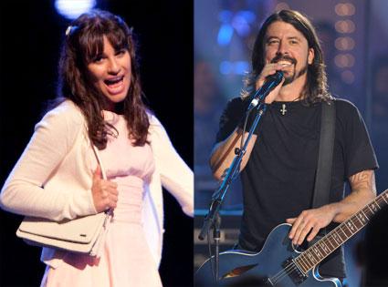 Foo Fighters, Glee
