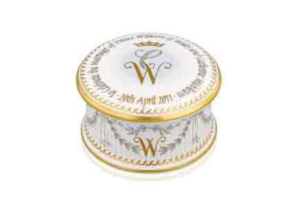 Kate Middleton, Prince William, Royal Wedding, Pill Box