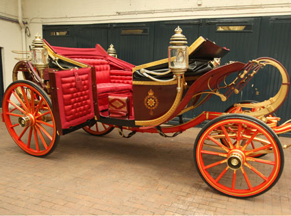 Carriage, Prince William, Kate Middleton