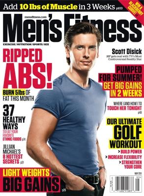 Scott Disick, Men's Fitness