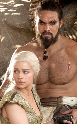 Game of Thrones, Emilia Clarke, Jason Momoa