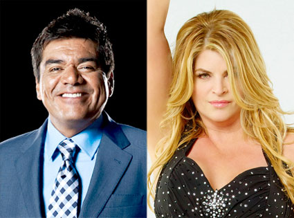 George Lopez, Kirstie Alley