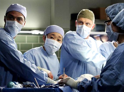 Grey's Anatomy: Jesse Williams, Sandra Oh, Kevin McKidd