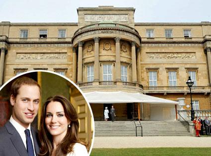 Buckingham Palace, Kate Middleton, Prince William