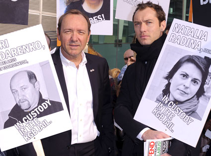 Kevin Spacey, Jude Law