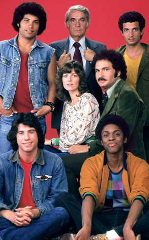 Welcome Back Kotter Cast, John Travolta