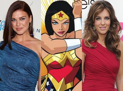 Elizabeth Hurley, Adrianne Palicki, Wonder Woman