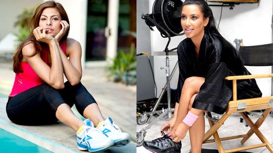 Eva Mendes, Kim Kardashian