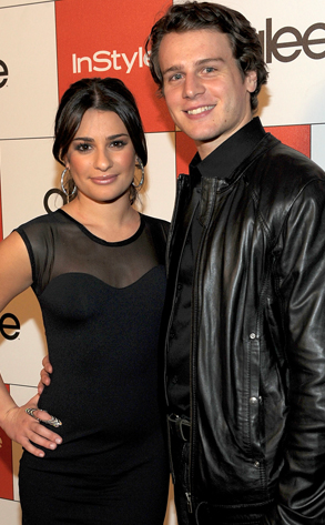 Lea Michele, Jonathan Groff