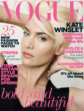 Kate Winslet, British Vogue Cover