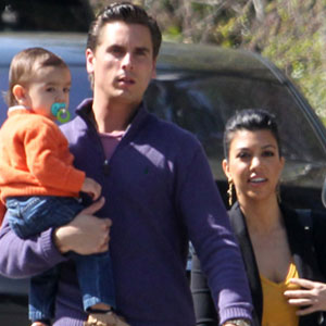 Scott Disick, Mason, Kourtney Kardashian