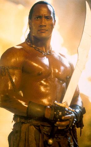 Dawyne Johnson, The Scorpion King