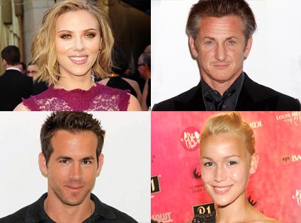 Scarlett Johansson, Sean Penn, Ryan Reynolds, Agnes Fischer