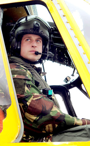 Prince William Heads Back to Work With Royal Air Force as