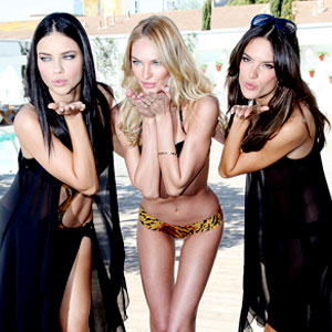 Victoria S Secret Model Could Lose Her Contract For Getting Way Too Skinny E Online
