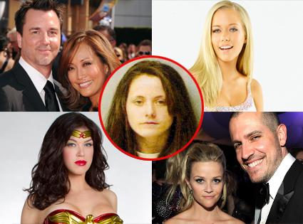 Adrianne Palecki, Kendra Wilkinson, Reese Witherspoon, Jim Toth, Carrie Ann Inaba, Jesse Sloan, Jenelle Evans