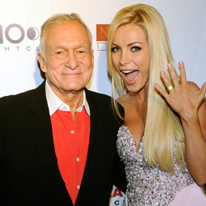 Who is hugh hefner dating 2011