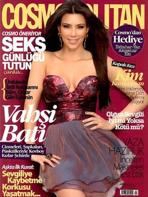 Kim Kardashian, Cosmopolitan, Turkey