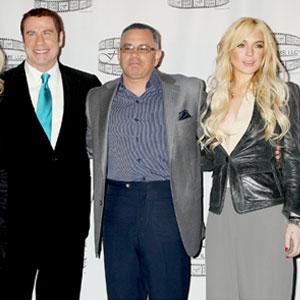 JohnTravolta, John Gotti Jr., Lindsay Lohan